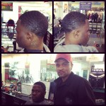 Taper Fade by Ray – World Boxing Champ Mike Dallas