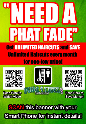 Unlimited Haircuts from Phat Fades